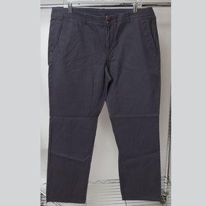 Bonobos Navy Blue Straight Fit Khakis 36x30